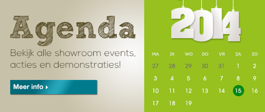 Agenda showroom events