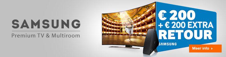 Samsung Premium TV & Multiroom cashback