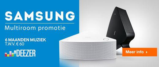 Gratis 6 maanden Deezer met Samsung Multiroom