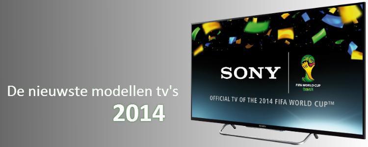 Nieuwste tv-modellen 2014