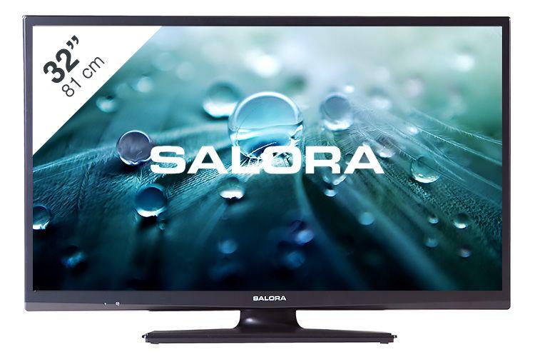 Salora LED tv-DVD combi