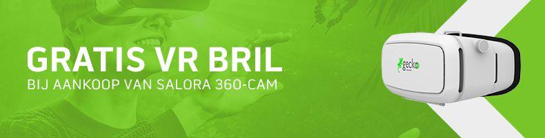 Gratis Salora VR-bril bij aanschaf 360 cam