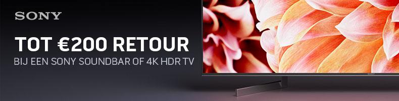 Sony Cashback 4K HDR Soundbar 2018