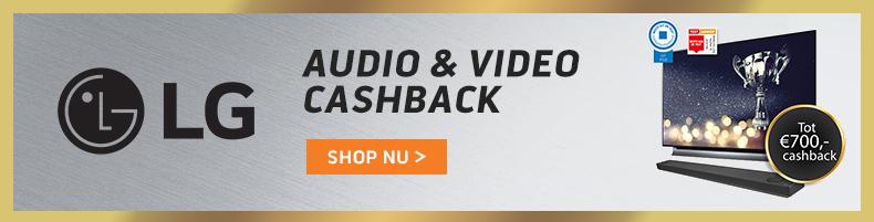 LG AV Cashback Q3 2018