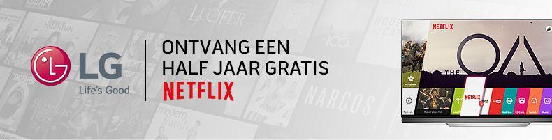 LG - 6 maanden gratis Netflix