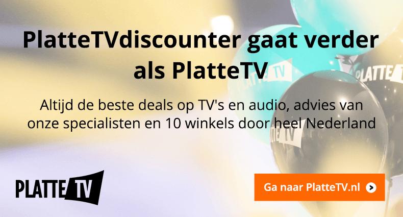 PlatteTVdiscounter gaat verder als PlatteTV