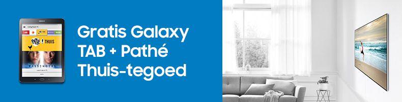 Samsung gratis TAB + Pathé tegoed