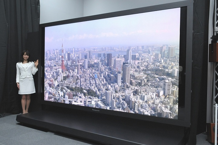 8K Ultra HD Sony Panasonic 2020