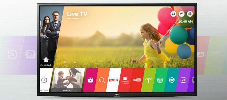 LG 43LH604V WebOS 3.0