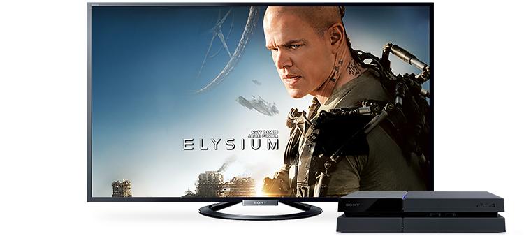 TV + PS4