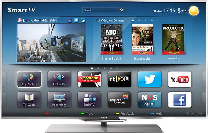 apps voor je smart tv. Black Bedroom Furniture Sets. Home Design Ideas